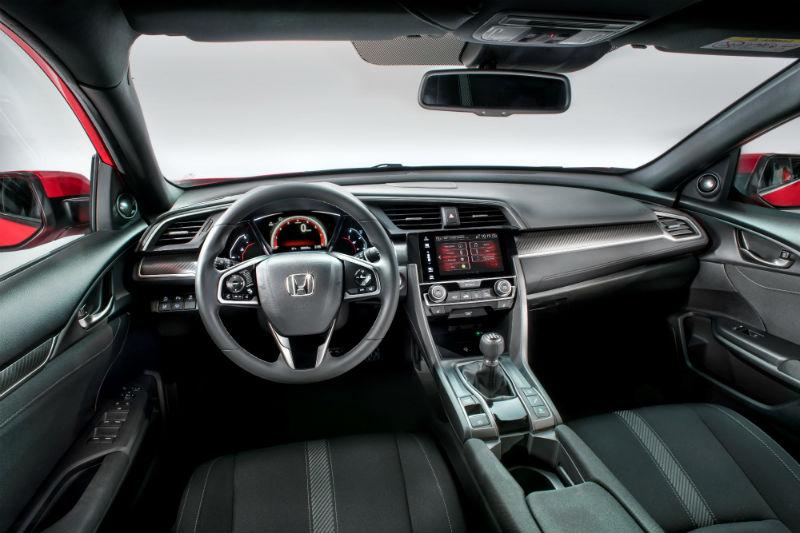 Yeni Honda Civic Hatchback kabin ve konsol