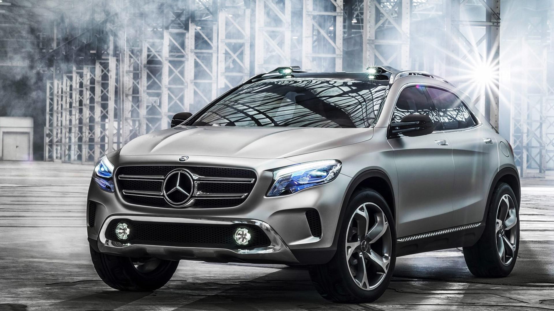 Mercedes GLA Konsept 2013