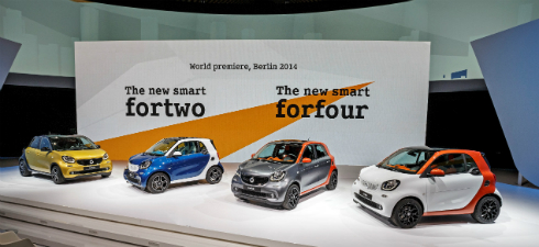 Smart Fortwo ve Smart Forfour Dünya Lansmanı