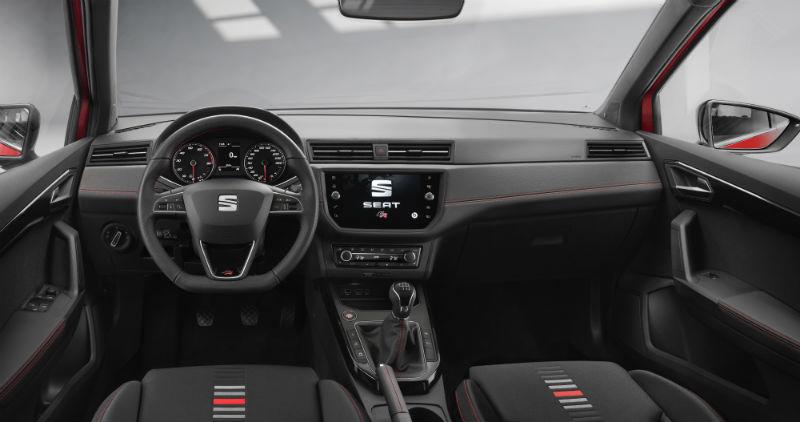 Seat Arona kabin ve konsol 2018