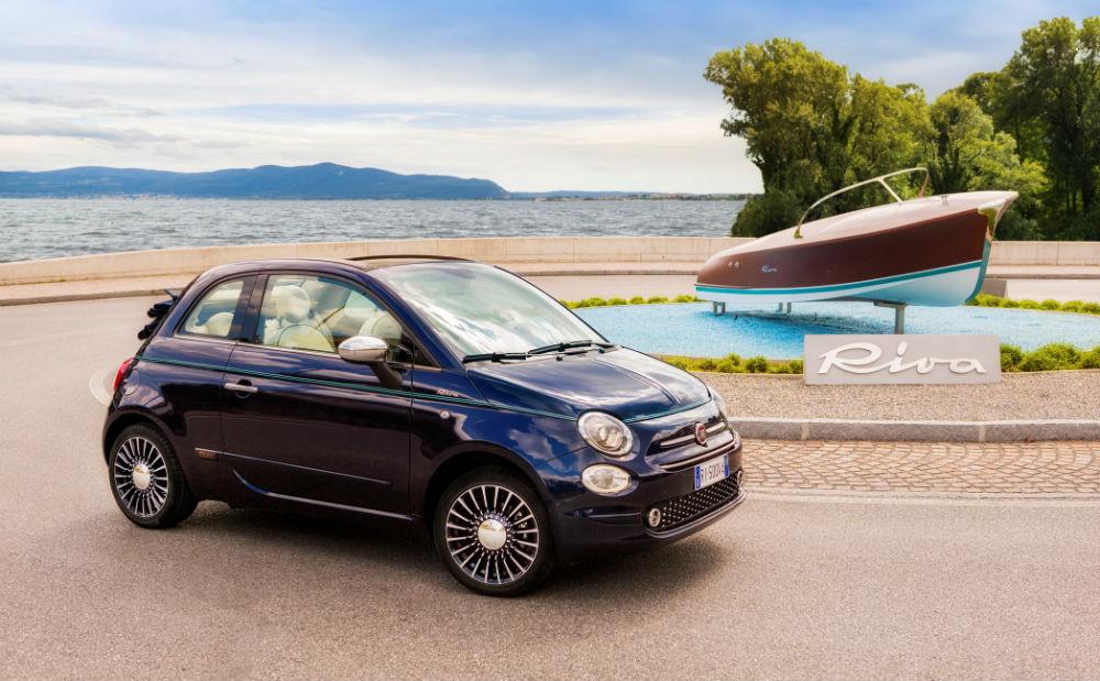 """Fiat 500 Riva, modele özel """"Gece Mavisi"""" renginde satışa sunulacak"""