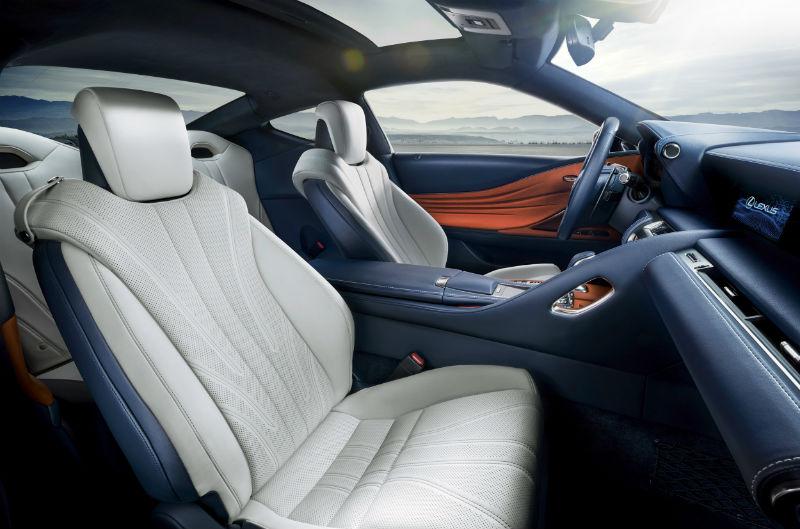 Lexus lc500 ön koltuklar