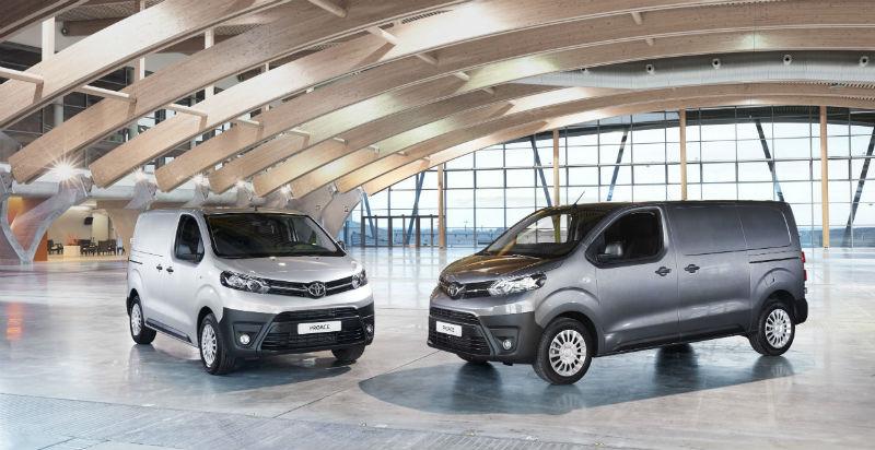 Toyota proace hafif ticari araçlar