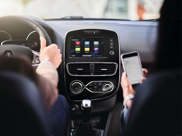 Yeni Clio dokunmatik ekran