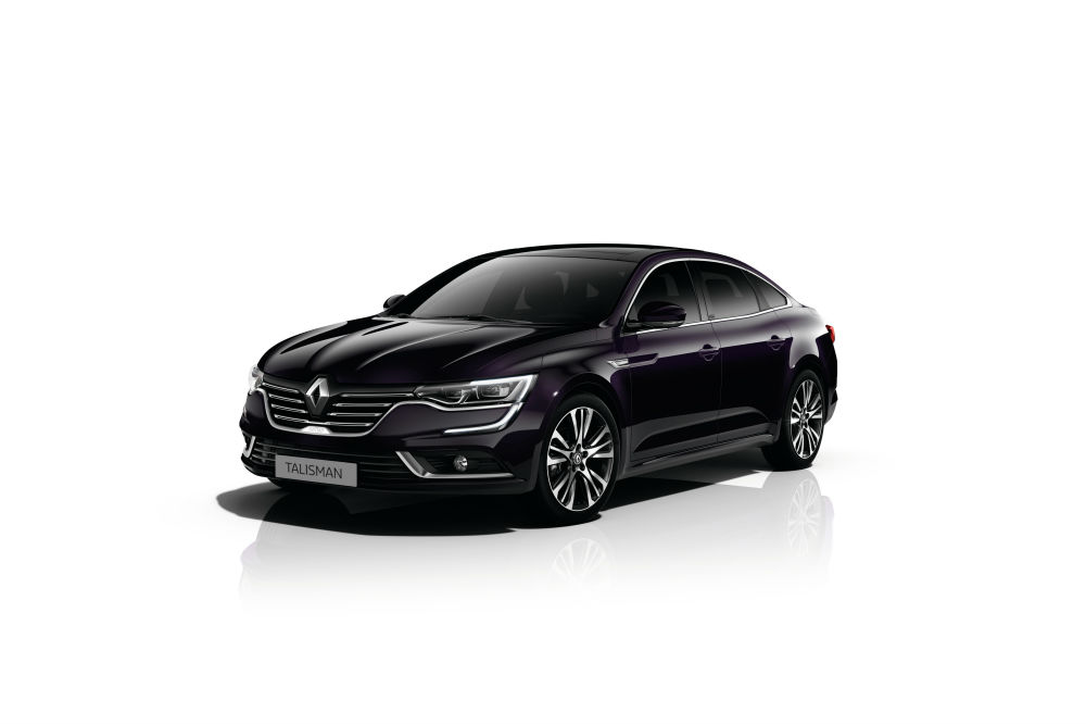 Renault Talisman 9'u metalik 10 farklı renk seçeneği ile satışa sunulacak.