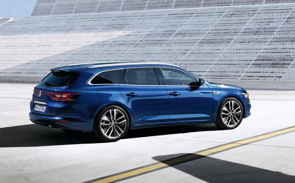 Renault Talisman Estate 2016'da Avrupa'da satışa sunulacak.