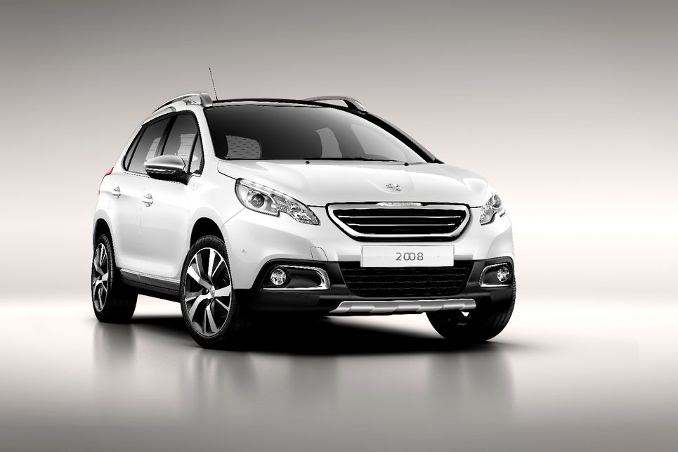 Peugeot 2008, suv, yan