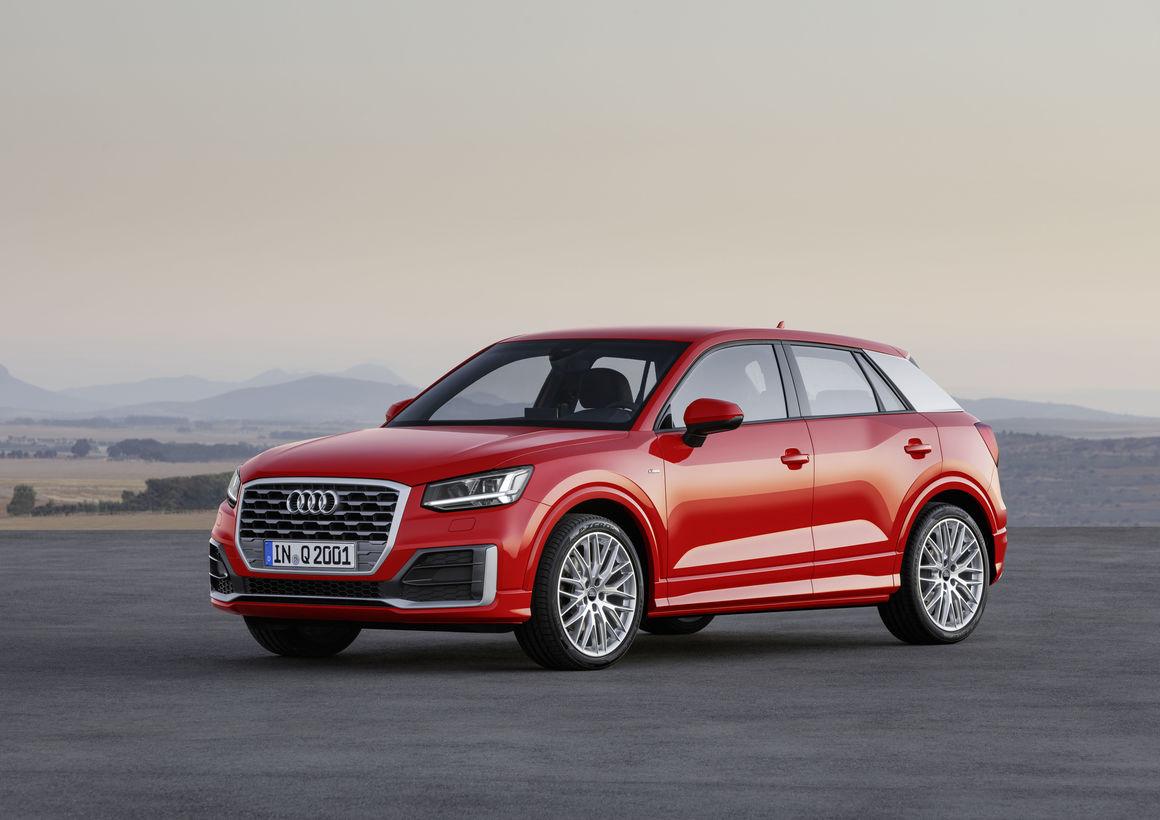 Audi Q2, Cenevre Otomobil Fuarı 2016 da tanıtılıyor.