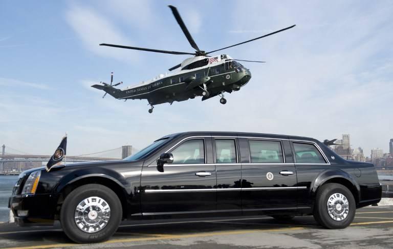 Barack Obama The Beast yan görünüm