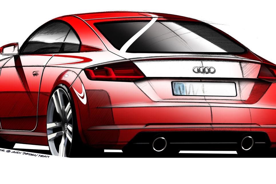 Audi TT, ilk tasarım, çizim, ilk fotoğraflar, audi