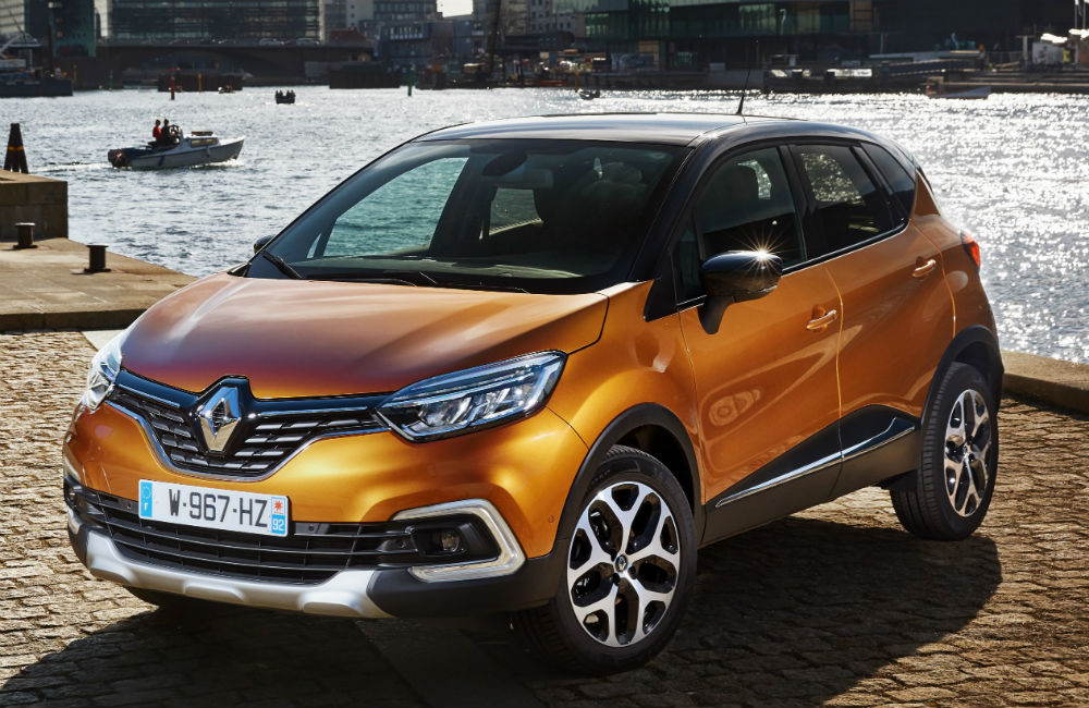 Makyajlanan yeni Renault Captur ön