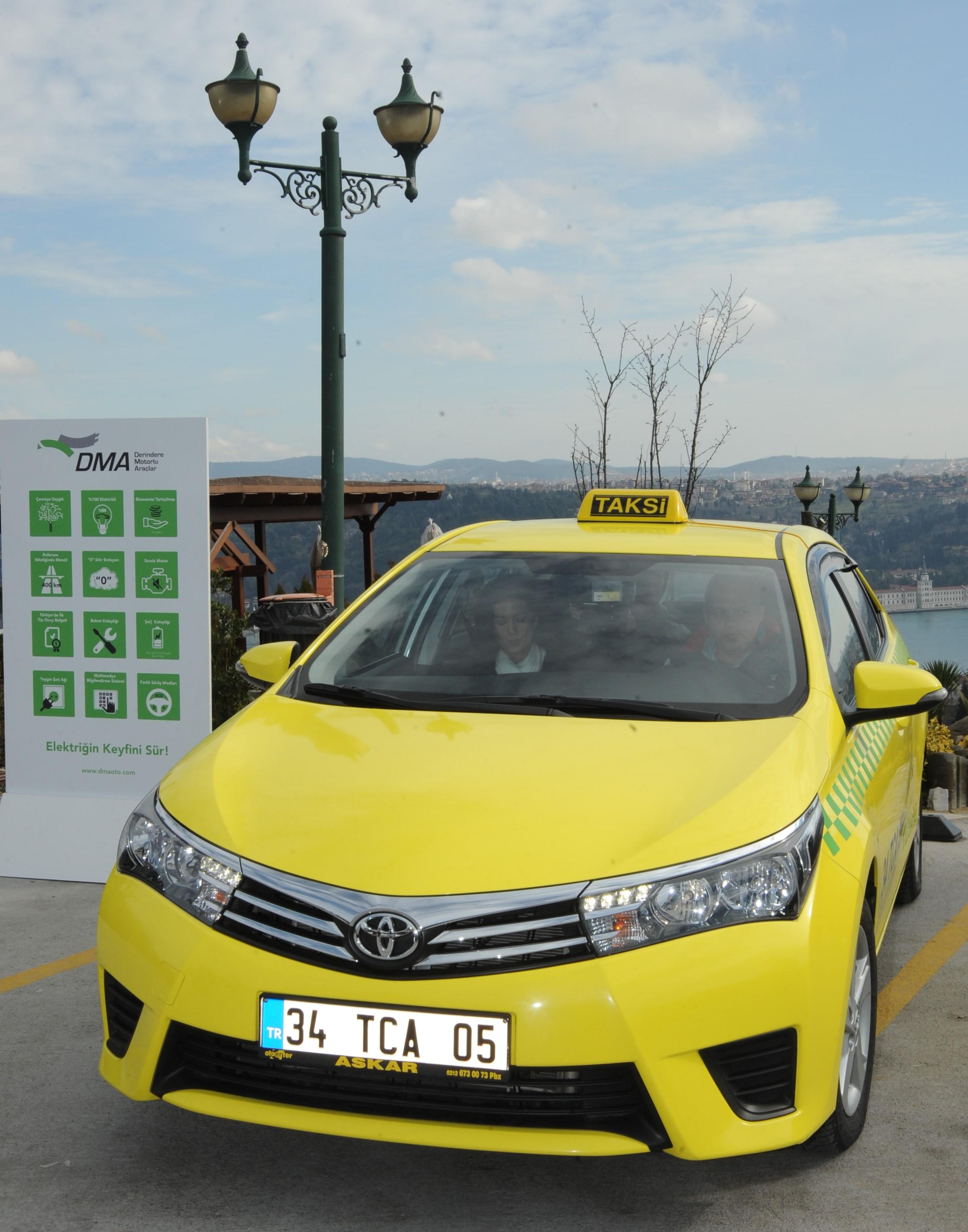 DMA Taksi 4 aydır yollarda test ediliyor