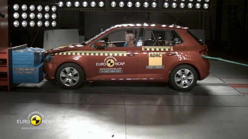 Euro NCAP Fabia Çarpışma Testi