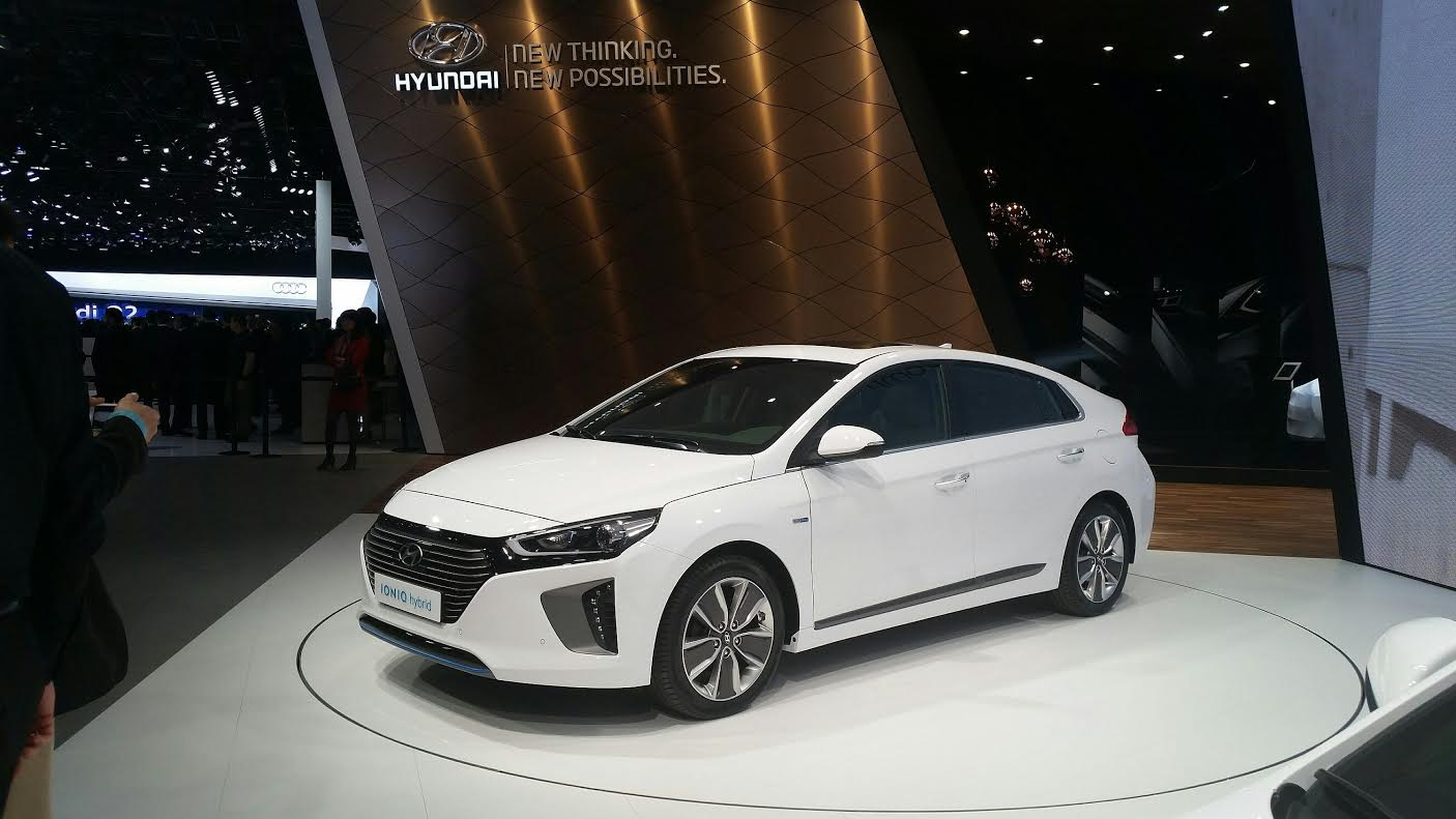 Hyundai IONIQ Cenevre Fuarı 2016 da dünya lansmanına çıkıyor