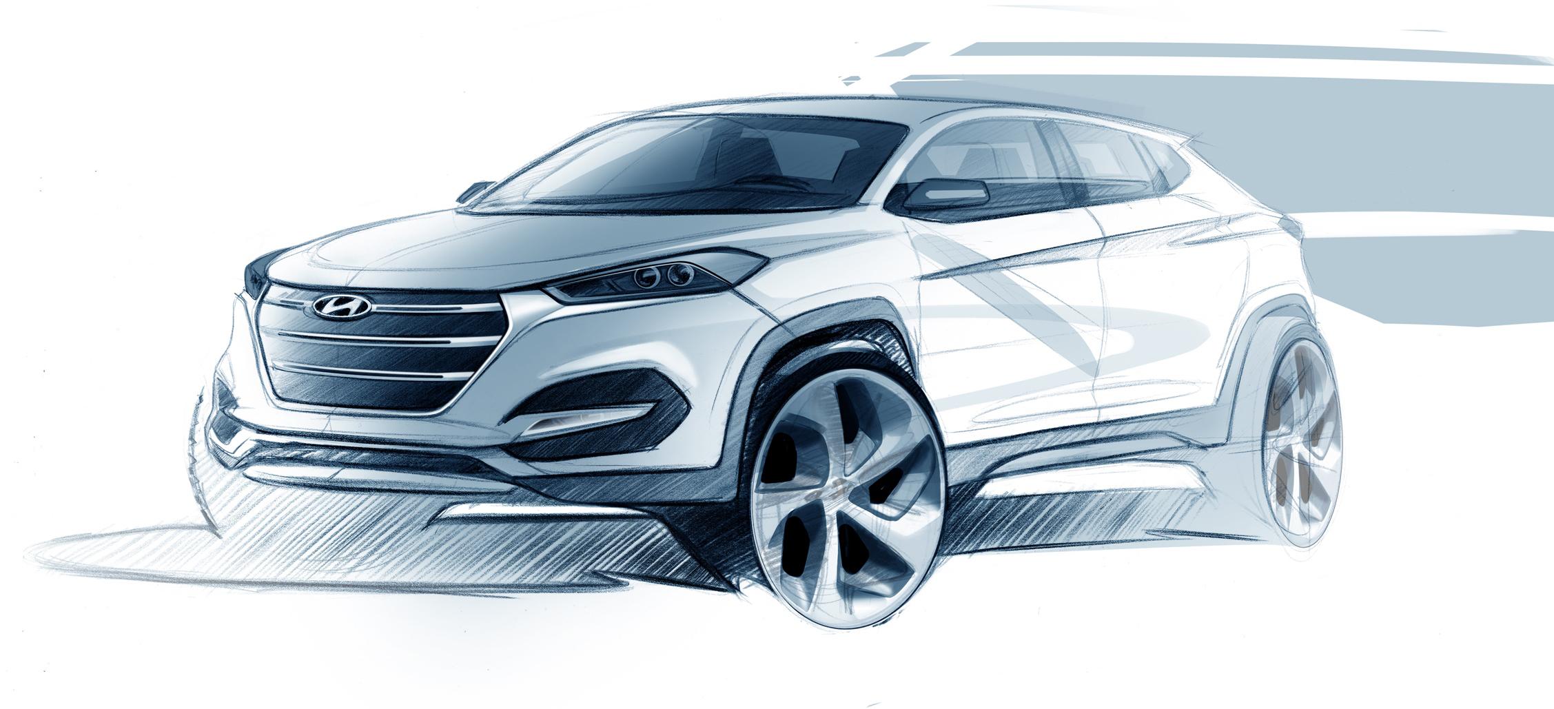 Yeni Hyundai Tucson  çok daha güçlü ve sportif