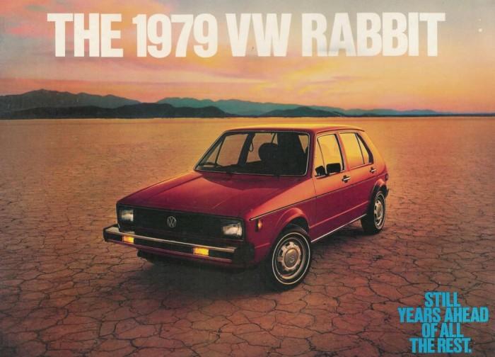 1979 Volkswagen Golf, Rabbit, ilk Golf