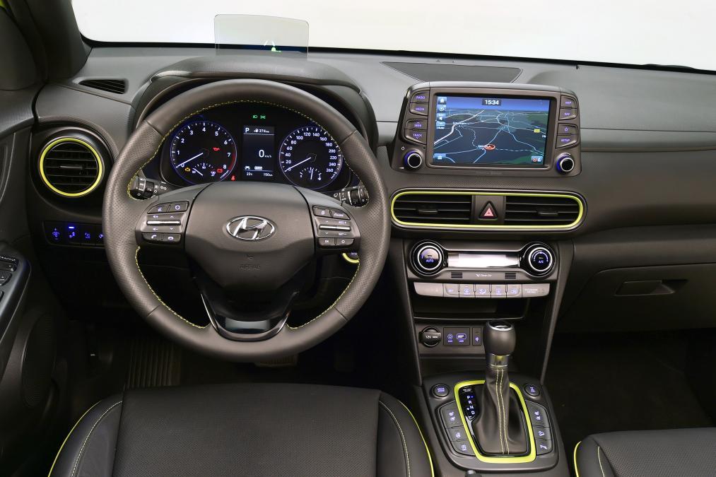 Hyundai kona ön konsol