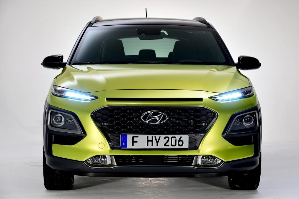 Hyundai Kona, b sınıfı küçük SUV