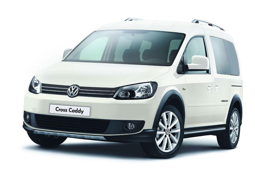 Volkswagen Cross Caddy, ticari araç, yeni model