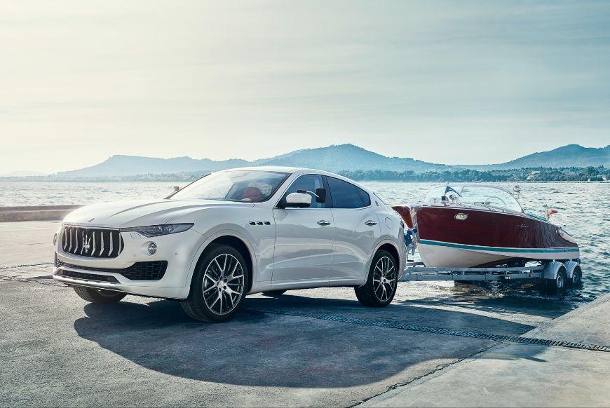 Maserati levante tekne ile