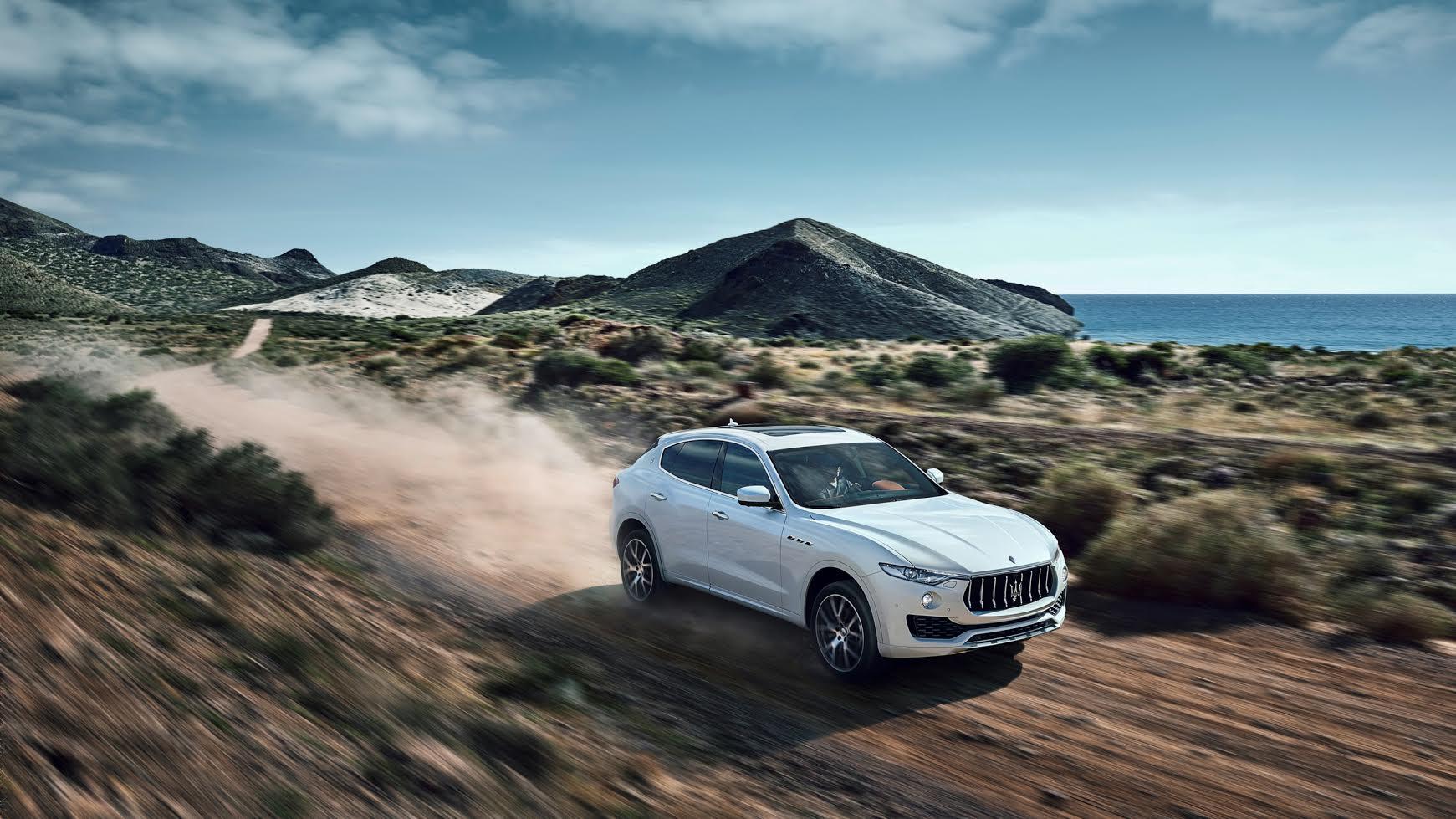 Maserati Levante doğada
