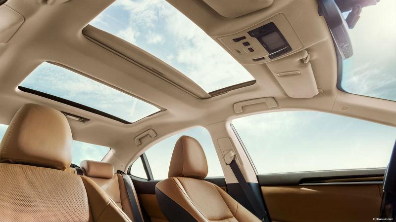 Lexus kabin konforu
