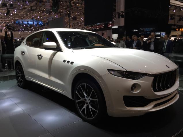 Maserati Levante MAserati'nin ilk suv modeli Cenevre Fuarı 2016 da tanıtıldı