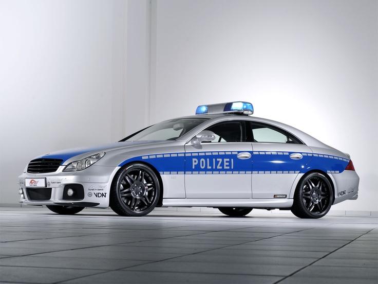 Mercedes Benz polis arabası CLS Brabus