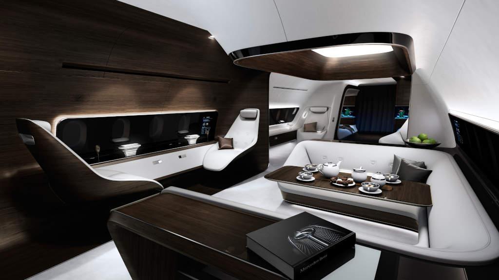 Mercedes-Benz Stil Departmanının LLufthansa özel jet tasarımı
