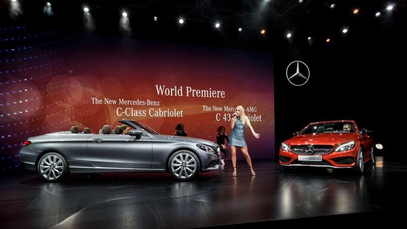 Mercedes C Serisi Kabrio ve Yeni E Serisi 10. Nesil Cenevre Fuarı 2016 da tanıtıldı.