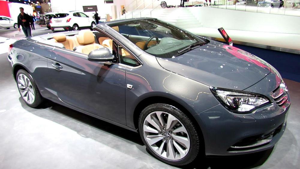 Opel Cascada Frankfurt Otomobil Fuarı