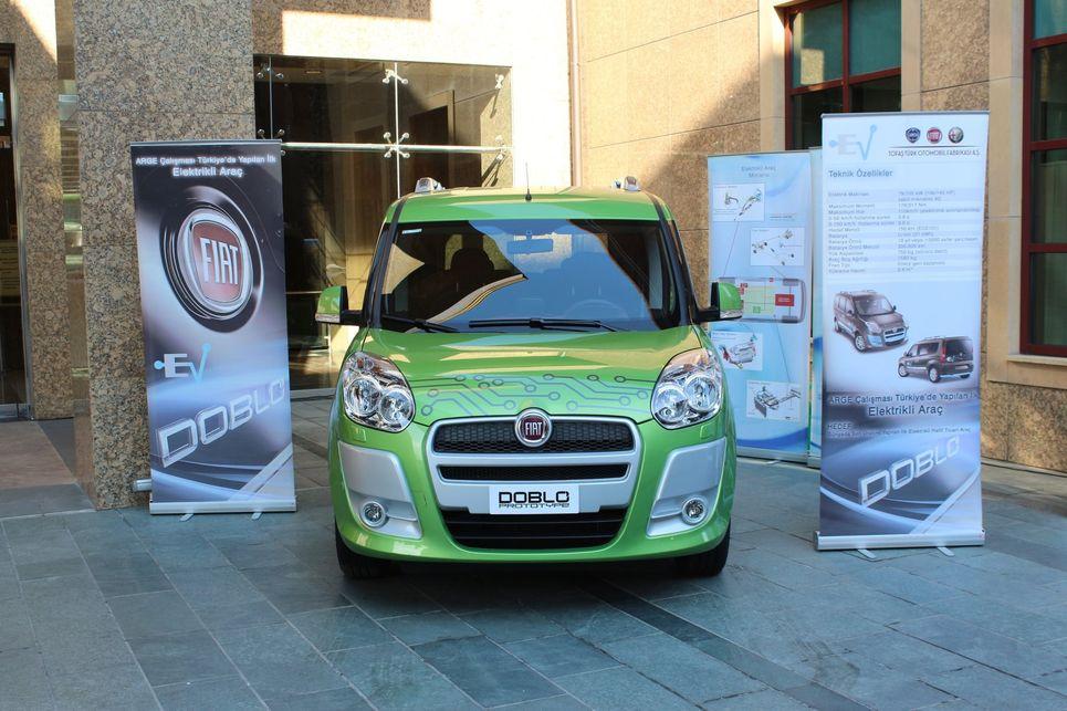 Fiat, Fiat Doblo, elektrikli Doblo, ticari araç