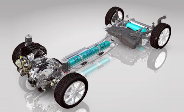 peugeot hybrid air  hava hibrid teknolojisi