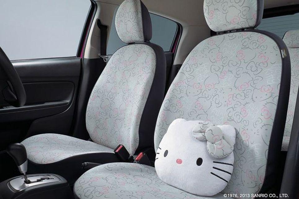 Mitsubishi hello kitty özel konsept modeli
