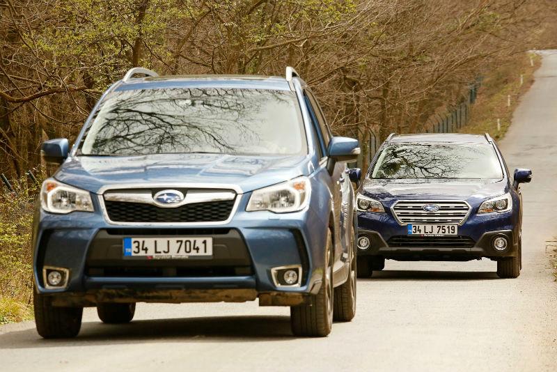 Subaru forester ve Subaru outback