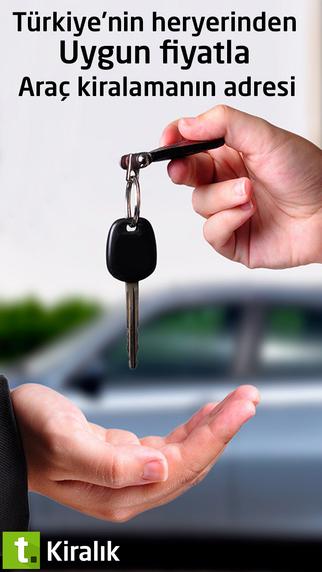 Tasit.com Rent A Car araç kiralama mobil uygulaması ios ve ipad için yayında