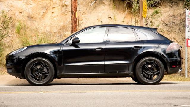Porsche MAcan, Macan, siyah