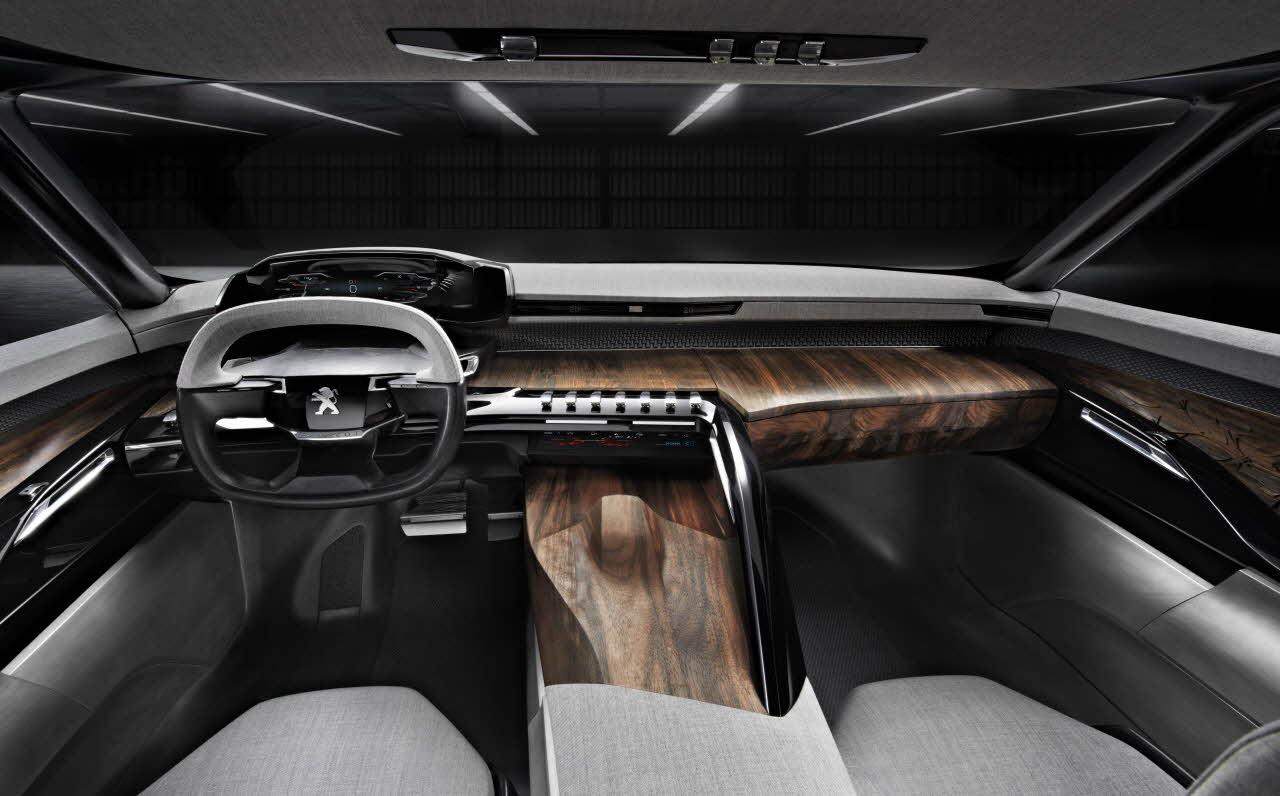 Peugeot exalt, kabin, iç mekan