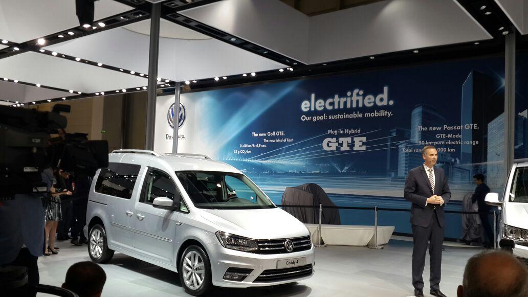 Dördüncü neslinde Volkswagen Caddy sürüş destek sistemleriyle dikkat çekiyor