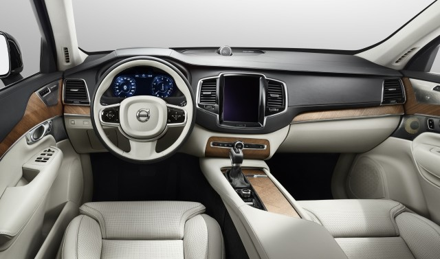 Volvo XC90 kokpit, direksiyon, sürücü koltuğu, volvo xc90