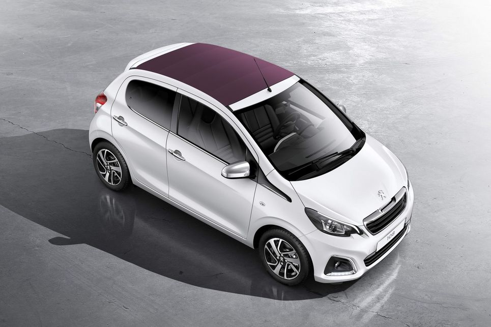 Peugeot 108 ile ilgili görsel sonucu