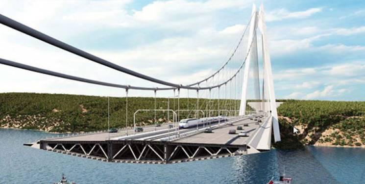 yavuz sultan selim köprüsü havadan