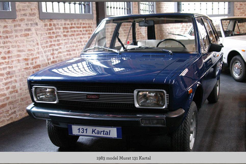 131 Kartal, Murat 131, Tofaş müzesi, Bursa, 1983 model