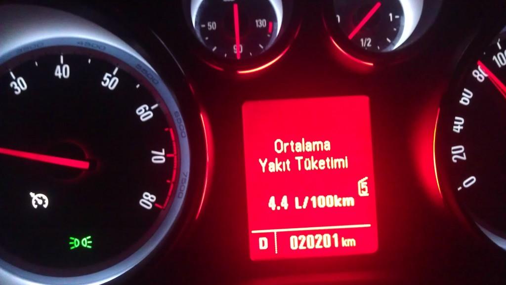 yakıt tüketimi görseli